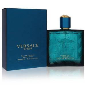 Versace Eros Cologne by Versace 3.4 oz EDT Spray for Men
