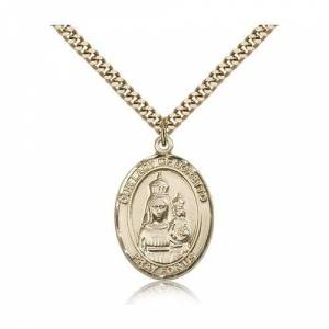 Bliss Manufacturing Gold Filled Our Lady of Loretto Pendant w/ chain