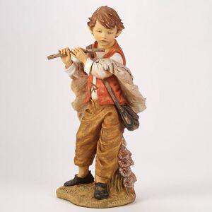 "Roman Inc. Drop Ship Orders Fontanini Michael Boy With Flute Figure 50"" Scale"