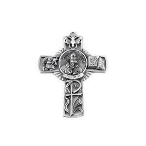 """Christian Brands St. Peter Wall Cross 5"""""""