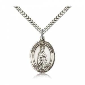 Bliss Manufacturing Sterling Silver Our Lady of Fatima Pendant w/ chain