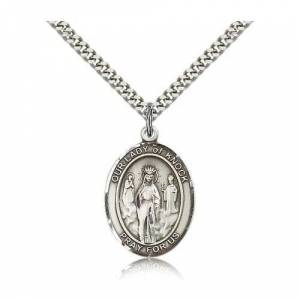 Bliss Manufacturing Sterling Silver Our Lady of Knock Pendant w/ chain