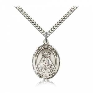 Bliss Manufacturing Sterling Silver Our Lady of Olives Pendant w/ chain