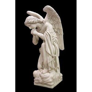 "Orlandi Statuary Adoration Kneeling Angel Praying 56"""