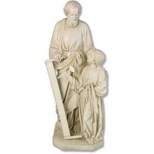 "Orlandi Statuary Joseph & Christ Child at Work Statue - 55"""