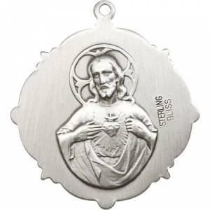 Bliss Manufacturing Sterling Silver Our Lady of Guadalupe Pendant
