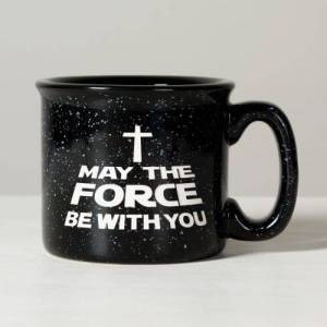 """Trinity - Mfg'd Product """"Force Be With You"""" Campfire Mug"""