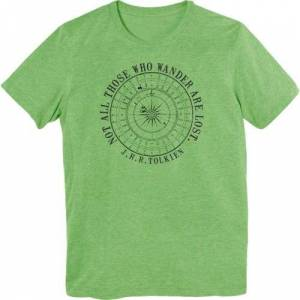 """Trinity - Mfg'd Product """"Not All Who Wander"""" T-Shirt"""