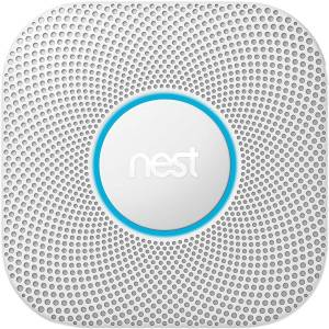 Nest Protect Wired Smoke + CO Detector (S3005PWLUS)