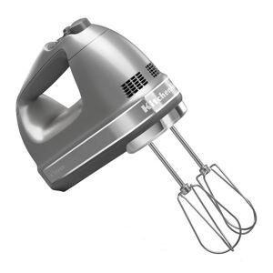 KitchenAid reg; Refurbished 9 Speed Hand Mixer  - Contour Silver