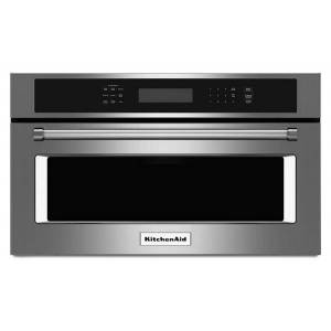 """KitchenAid reg; 30"""" Built In Microwave Oven with Convection Cooking  - Stainless Steel"""
