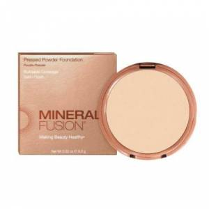 Mineral Fusion Pressed Powder Foundation Deep 4 .32 Oz by Mineral Fusion