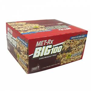 Met-Rx Big 100 Colossal Chocolate Chip 9 Pack by Met-Rx