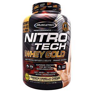 Muscletech Nitro-Tech 100%Whey Gold Strawberry 35 Servings by Muscletech