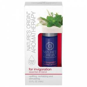 Nature's Origin Aromatherapy for Invigoration Essential Oil Blend Roll-On Roll-On 24 X 15 ml by Nature's Origin