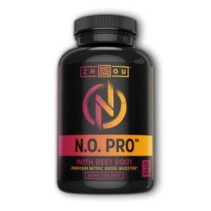 Zhou Nutrition N.O. Pro 120 Veg Caps by Zhou Nutrition