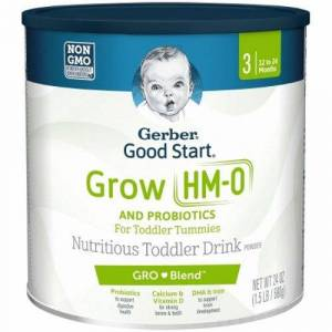 Nestle Healthcare Nutrition Pediatric Oral Supplement Gerber Good Start Grow Unflavored 24 oz. Can Powder - Case of 4 by Nestle Healthcare Nutrition
