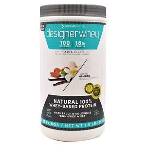 Designer Whey Whey Protein Vanilla Almond 1.9 lb by Designer Whey