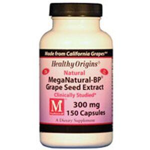 Healthy Origins MegaNatural-BP Grape Seed Extract 150 caps by Healthy Origins
