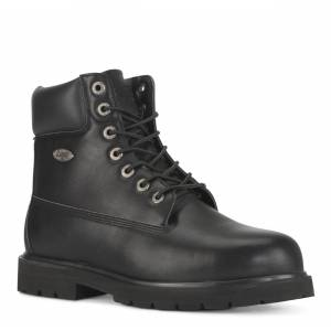 Lugz Men's Drifter 6 Steel Toe 6-Inch Boot (Choose Your Color: Black Smooth, Choose Your Size: 15.0W)