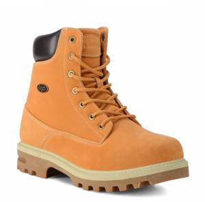 Lugz Men's Empire Hi Water Resistant 6-Inch Boot (Choose Your Color: GOLDEN WHEAT/BARK/CREAM, Choose Your Size: 15.0)