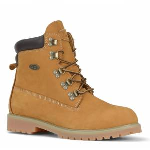 Lugz Men's Khan 6-Inch Boot (Choose Your Color: GOLDEN WHEAT/BARK/TAN, Choose Your Size: 12.0)