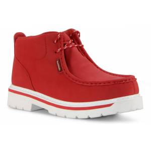 Lugz Men's Strutt Lx Chukka Boot (Choose Your Color: MARS RED/WHITE, Choose Your Size: 8.0)