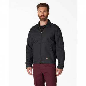Dickies Men's Unlined Eisenhower Jacket - Black Size S (Jt75)