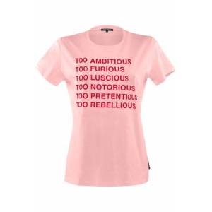 Marlies Dekkers t-shirts t-shirt top    pink and red - XL