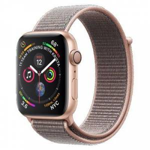 Apple Watch Series 4 GPS Gold Aluminium 40MM Pink Sport Loop  - Color: Pink Sport Loop