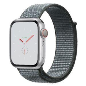 Apple Watch Nike+ Series 4 GPS Silver Aluminium 40MM Gray Sport Loop