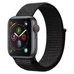 Apple Watch Series 4 GPS + Cellular Space Gray Alumini 44MM Black Sport Loop
