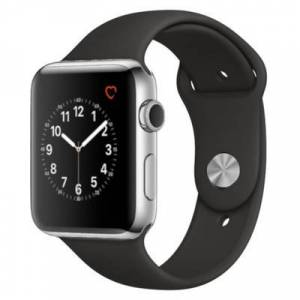 Apple Watch Series 2 Stainless Steel Case 42MM Gray Sport Band
