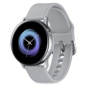 Samsung Galaxy Watch Active Silver Gray Silicone Band