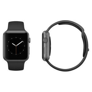 Apple Watch Sport 42mm Aluminium Space Gray Black Sport Band