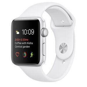 Apple Watch Sport 42mm Aluminium Silver White Sport Band