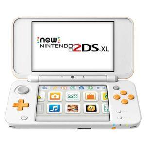 Nintendo New 2DS XL White + Orange