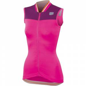 Sportful Women's Grace Sleeveless Jersey  - Bubble Gum-Victorian Purple