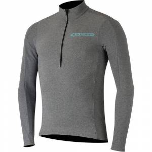 Alpinestars Booter Warm Jersey  - XL - Melange Gray Atoll Blue