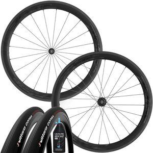 Prime RR-50 V3 Wheelset - Tubeless Bundle - 700c - Black