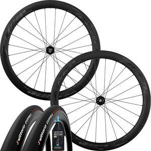 Prime RR-50 V3 Disc Wheelset - Tubeless Bundle - 700c - Black