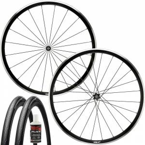 Prime Attaquer Wheelset - Tubeless Bundle - 700c - Black