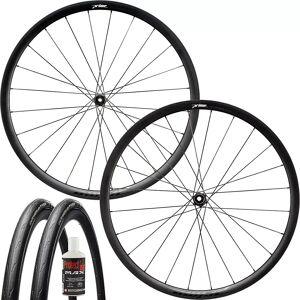 Prime Attaquer Disc Wheelset - Tubeless Bundle - 700c - Black