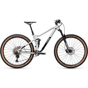 Cube Stereo 120 Race 29 Suspension Bike 2021 - M - Lightgrey - Black