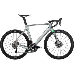 Rondo HVRT CF 0 Road Bike 2021 - L - Pewter - Lime