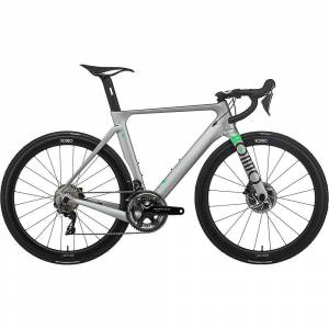 Rondo HVRT CF 0 Road Bike 2021 - XL - Pewter - Lime