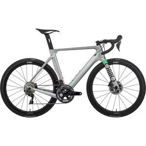 Rondo HVRT CF 0 Road Bike 2021 - S - Pewter - Lime