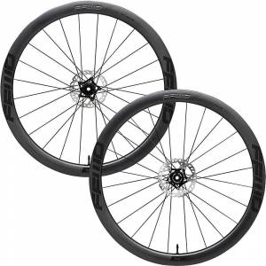 Fast Forward Raw DT180 Carbon Disc Road Wheelset - 700c - Black XDR