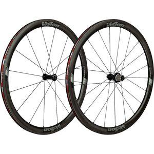 Vision TriMax Carbon 40 Tubular Wheelset - 700c - Grey