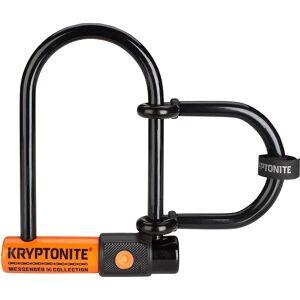 Kryptonite Messenger Mini & U-Lock Extender - Sold Secure Bronze Rated - Black-Orange